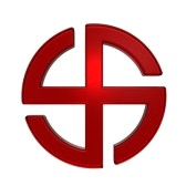 4886880-ruby-sun-cross-symbol-broken-crossed-circle-isolated