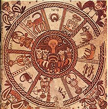 The same Zodiac but now with the missing 'thirteenth'... 'Smack bang,' in the middle. Question. Recognize it? Where have you seen it before? Find it, to understand it. [