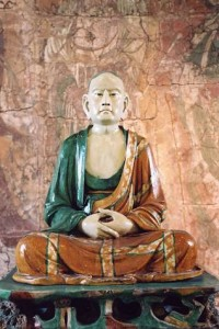 n Britain today there is only one piece of ' objective art 'that expresses the spiritual world perfectly without the distorting influence of a human personalty. Many who....The Lohan, A chinese statue of a Buddhist monk.