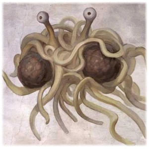 The Flying Spaghetti guy. Meat balls optional? Question. Is he bragging or complaining? Take into account gravity, relative to size. Neutron star....Sirius B? Maybe Mr Temple really is on to something. Could 'aliens' be trying to tell us something....a revelation?